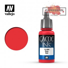 Game Color Red Ink 17 ml....