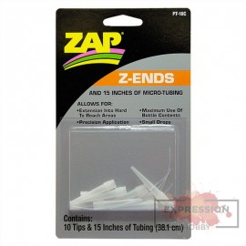 ZAP Z-ENDS 10 ENDS & 12 TUBING