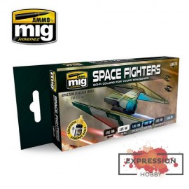 SET ACRYLICS Space Fighters...