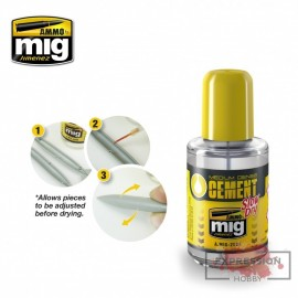 30ML SLOW DRY GLUE FOR...
