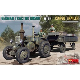 GERMAN TRACTOR D8506 WITH...