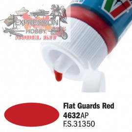 ACRYLIQUE FLAT GUARDS RED...