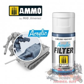 ACRYLIC FILTER French Blue...
