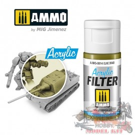 ACRYLIC FILTER Olive Drab...