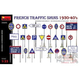 FRENCH TRAFFIC SIGNS...