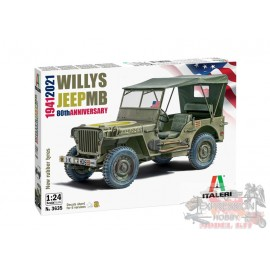 WILLYS JEEP MB 80TH...