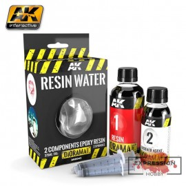 RESIN WATER 2 COMPONENTS...