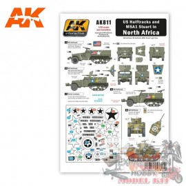 US HALFTRACKS AND M5A1 IN...