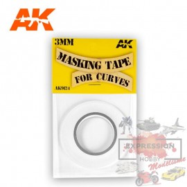 MASKING TAPE POUR COURBES...