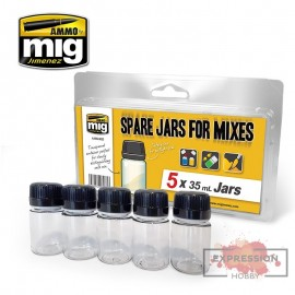 SPARE JARS FOR MIXES (5 X...