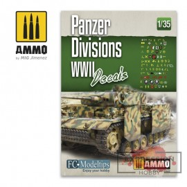 PANZER DIVISIONS WWII....