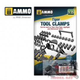 1/35 TIGER TOOL CLAMPS...