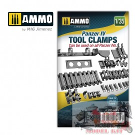 1/35 PANZER IV TOOL CLAMPS...