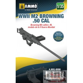 WWII M2 BROWNING .50 CAL...