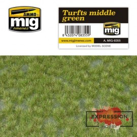 TURFS MIDDLE GREEN - TOUFFE...