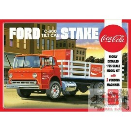 FORD C600 STAKE BED WITH...
