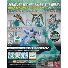 ACTION BASE 2 CLEAR GREEN...