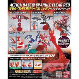 ACTION BASE 2 CLEAR RED...