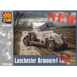 LANCHESTER ARMOURED CAR...