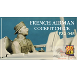 FRENCH AIRMAN COCKPIT CHECK...