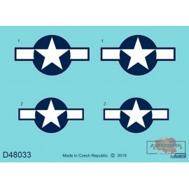 P-51D NATIONAL INSIGNIA 1/48