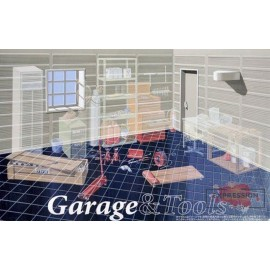 CAR GARAGE (TOOLS ARE NOT...