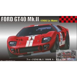 FORD GT40 LE MANS 1966 1/24...