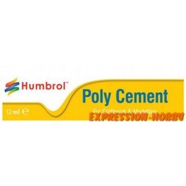 COLLE POLY CEMENT 12ML HUMBROL