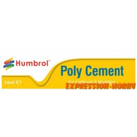 COLLE POLY CEMENT 24ML HUMBROL