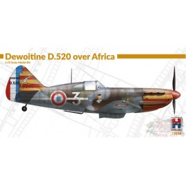 DEWOITINE D520 OVER AFRICA...