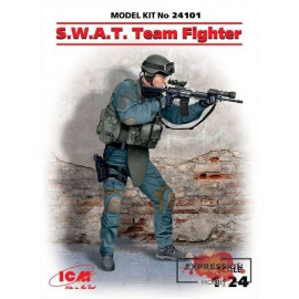 S.W.A.T. TEAM FIGHTER 1/24