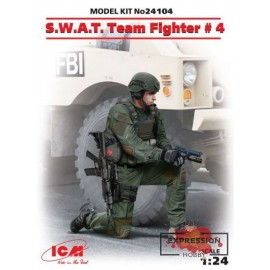 S.W.A.T. TEAM FIGHTER  4 1/24