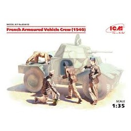 FRENCH ARMOURED VEHICLE CREW