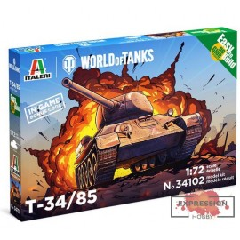 T34/85 - WOT - EASY TO...