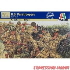 WWII US PARATROOPERS 1/72...