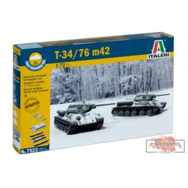 T34/76 M42 FAST ASSEMBLY...