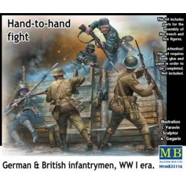 HAND TO HAND FIGHT WWI 1/35...