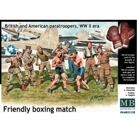 FRIENDLY BOXING MATCH WWII...