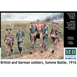 BRITISH AND GERMAN SOLDIERS...