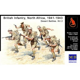 BRITISH INFANTRY IN ACTION...