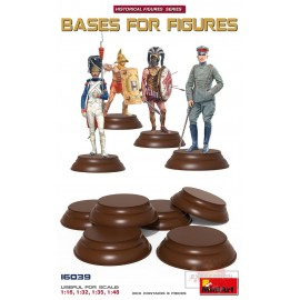 6 BASES POUR FIGURINES 1/16...