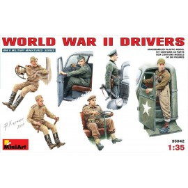 WWII DRIVERS - CONDUCTEURS...