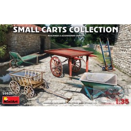SMALL CARTS COLLECTION 1/35...