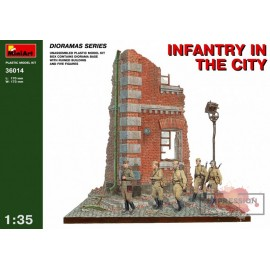 INFANTRY IN THE CITY 1/35...