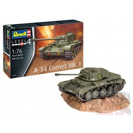 A-34 COMET MK.1 1/76 REVELL...
