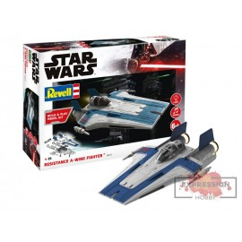 RESISTANCE A-WING FIGHTER,...