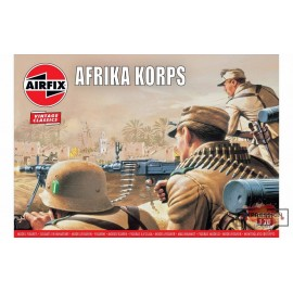 WWII AFRIKA CORPS 1/76