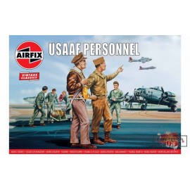 USAAF PERSONNEL 1/76 AIRFIX...