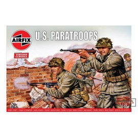 WWII US PARATROOPS 1/76...