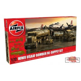 WWII USAAF BOMBER RE-SUPPLY...